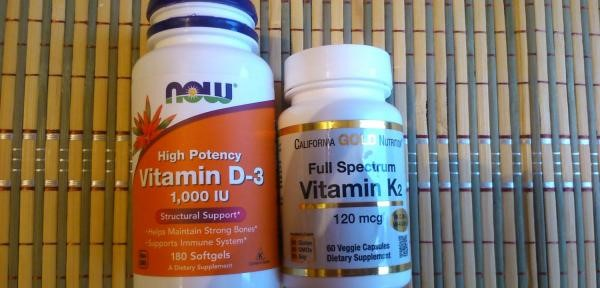 Витамин D-3 и K2 отлично дополняют друг друга. Кофаторы