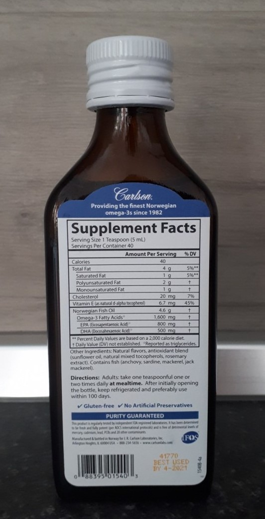 Отзыв Carlson Labs, Норвежская серия, самый лучший рыбий жир, лимонный вкус.The Very Finest Fish Oil
