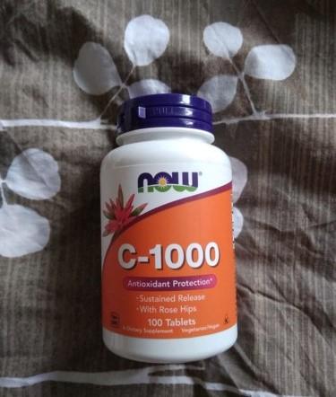 витамин С Now Foods C-1000