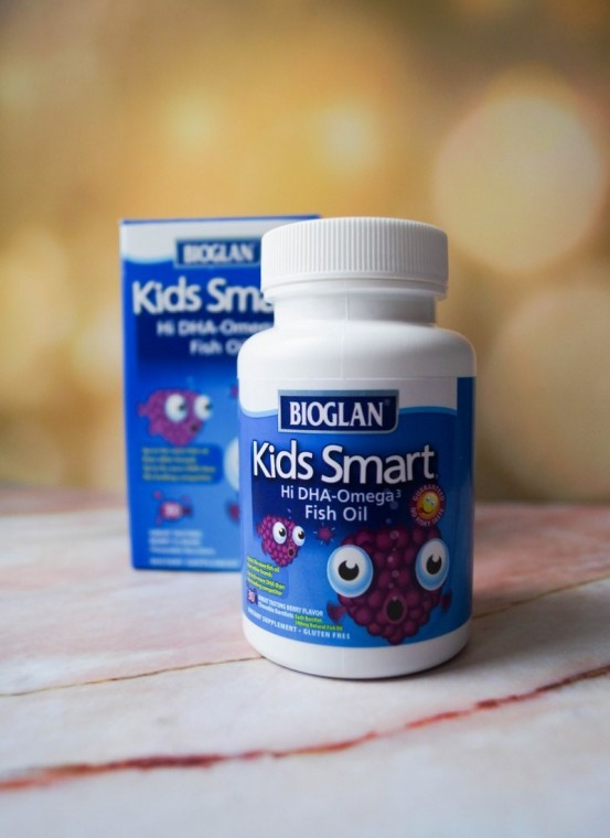 Детская Омега-3 Bioglan Kids Smart Hi DHA-Omega 3 Fish Oil