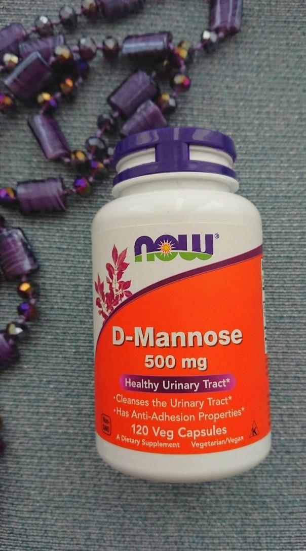 Обзор и отзывы на Now Foods D-манноза. Польза и вред, противопоказания, как принимать. Где купить.