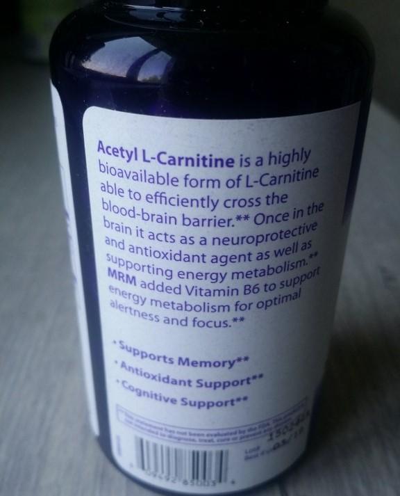 Ацетил L-карнитин MRM