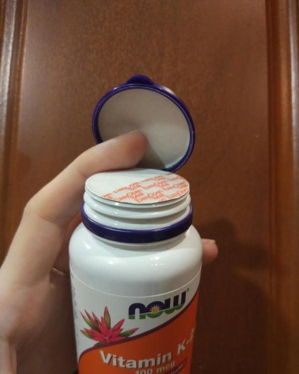 Now Foods MK-7 витамин K-2