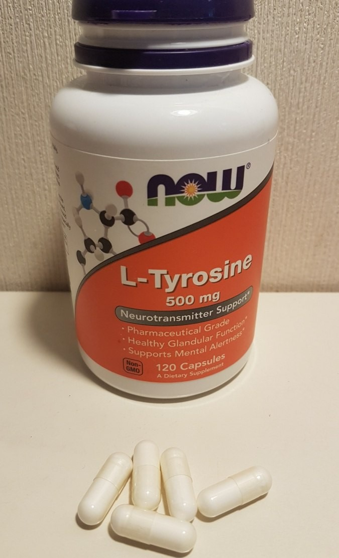 Now Foods L-тирозин.