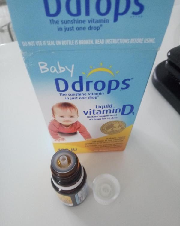 Ddrops Baby Liquid Vitamin D3