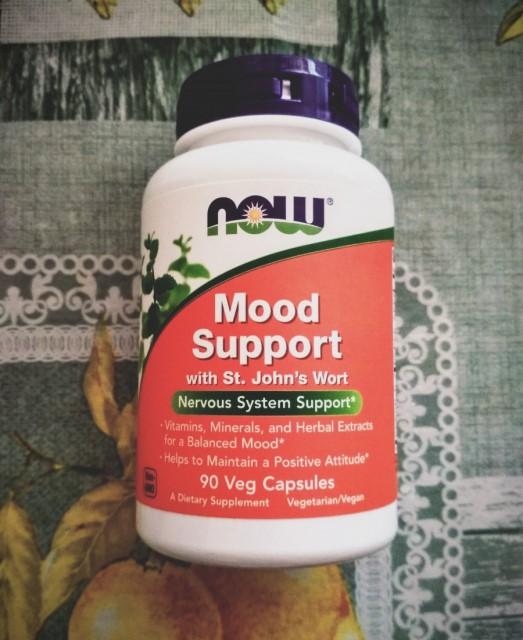 Отзыв БАД Now Foods Mood Support со зверобоем. Обзор биодобавки, как принимать, противопоказания