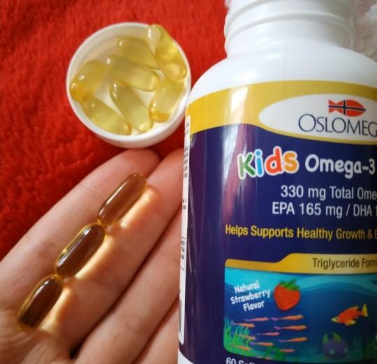 Отзыв БАД Oslomega Norwegian Kids Omega-3 Fish Oil. Детская омега-3 60 капсул. Обзор биодобавки США
