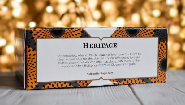 Nubian Heritage, Африканское черное кусковое мыло