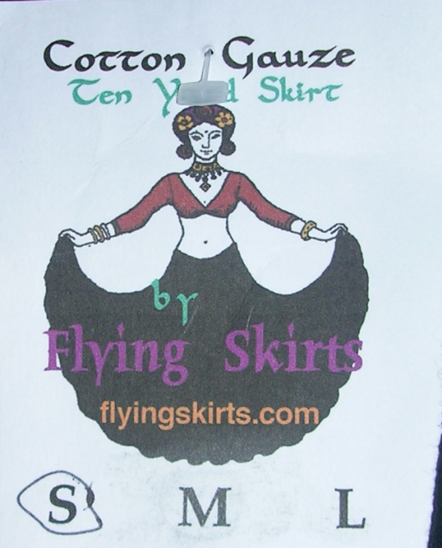 flying skirts