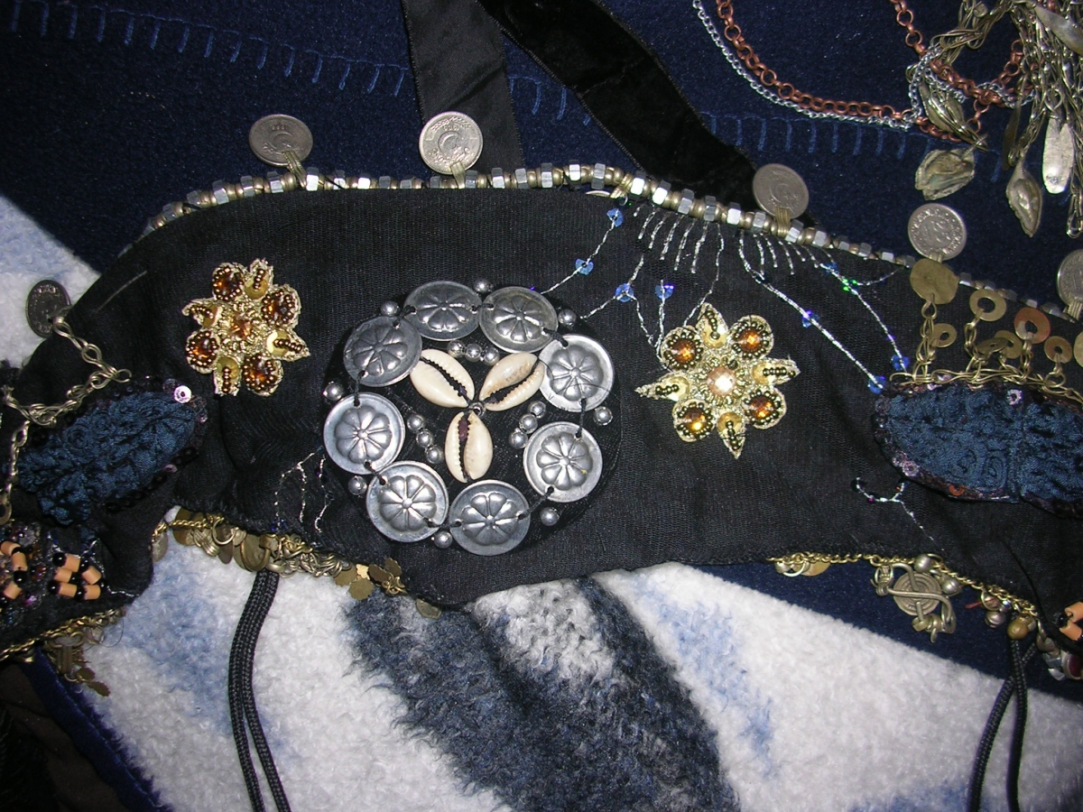 tribal belt closeup