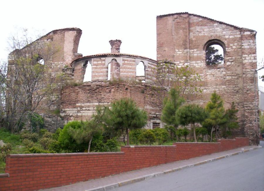 One_of_the_exterior_facades_of_the_St._John_Stoudios_(Imrahor)_Monastery