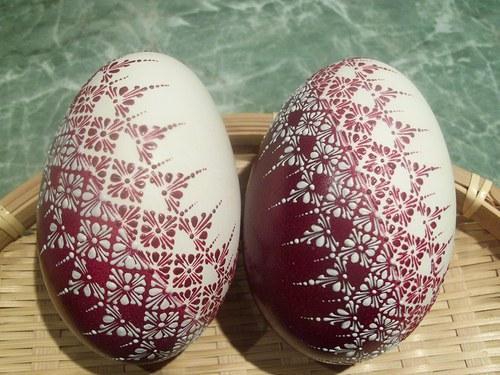 Как украсить яйца фото