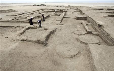 крепость в Телль - Хебоуа