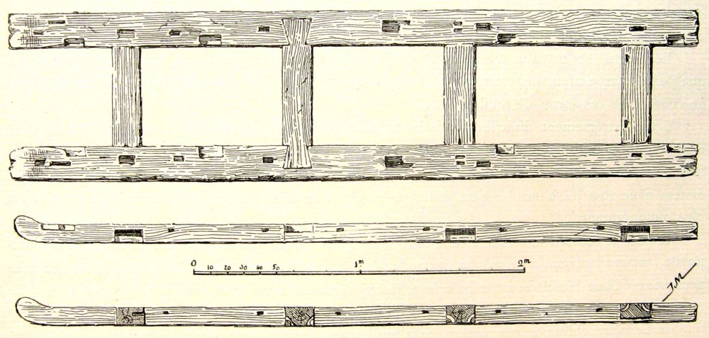 Мощеная дорога Хеопса. sesostris_iii_funerary_sledge