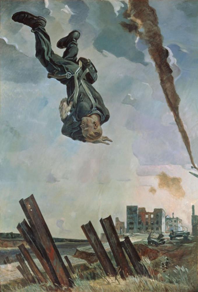 Alexandre Deineka - L'as abattu, 1943 - copie