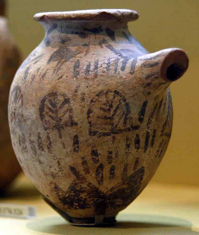naqada II spouted jar