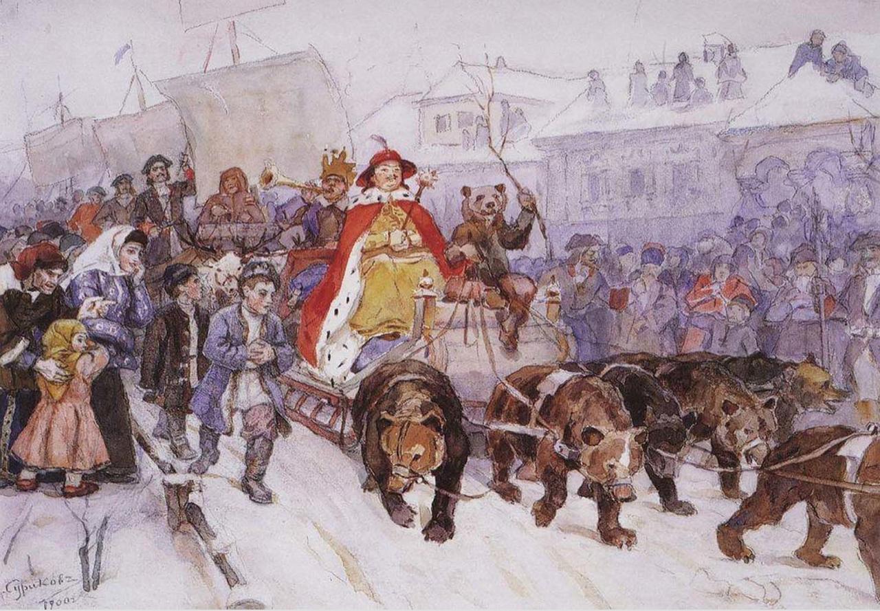 Когда отмечался новый год на руси до издания указа петра 1
