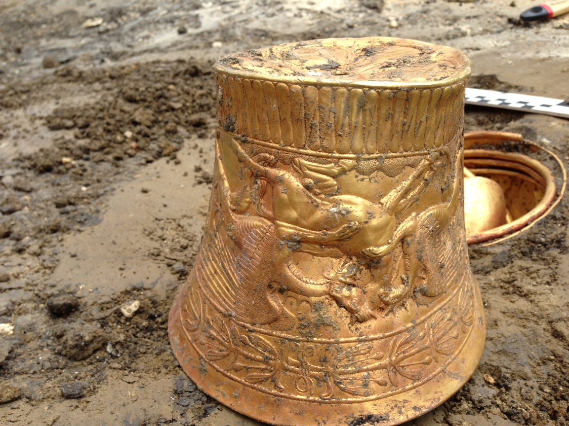 Найденное на ставрополье золото сарматов изготовлено для ски.