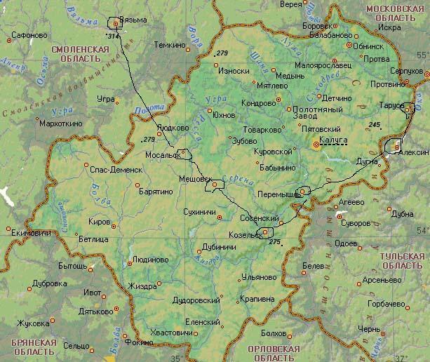 Граница XIII века на