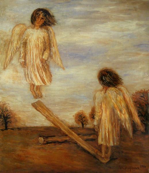 ангелы на качелях