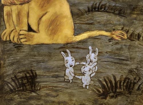 хоровод зайцев