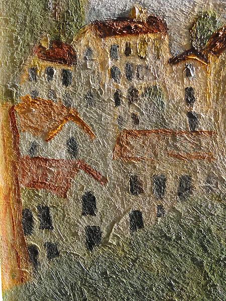 Птица на черепе, фрагмент 2