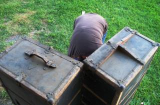 Steamer Trunk, Oct 08 2011 (open from top)