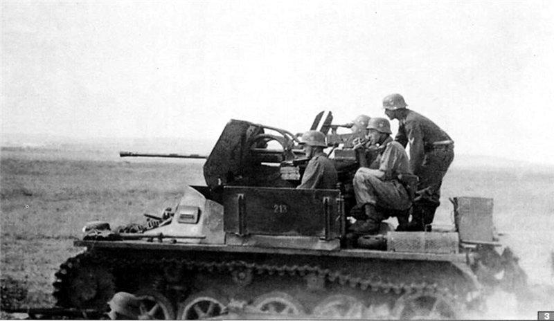 2cm Flak 38 Auf Pzkpfw IA