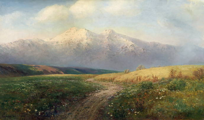 Луг среди гор 1913.jpg