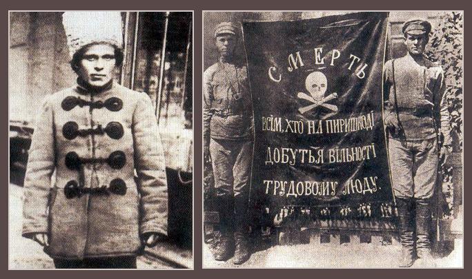 Мои дядя и тетя на фоне Махно и Брежнева - ale_ku