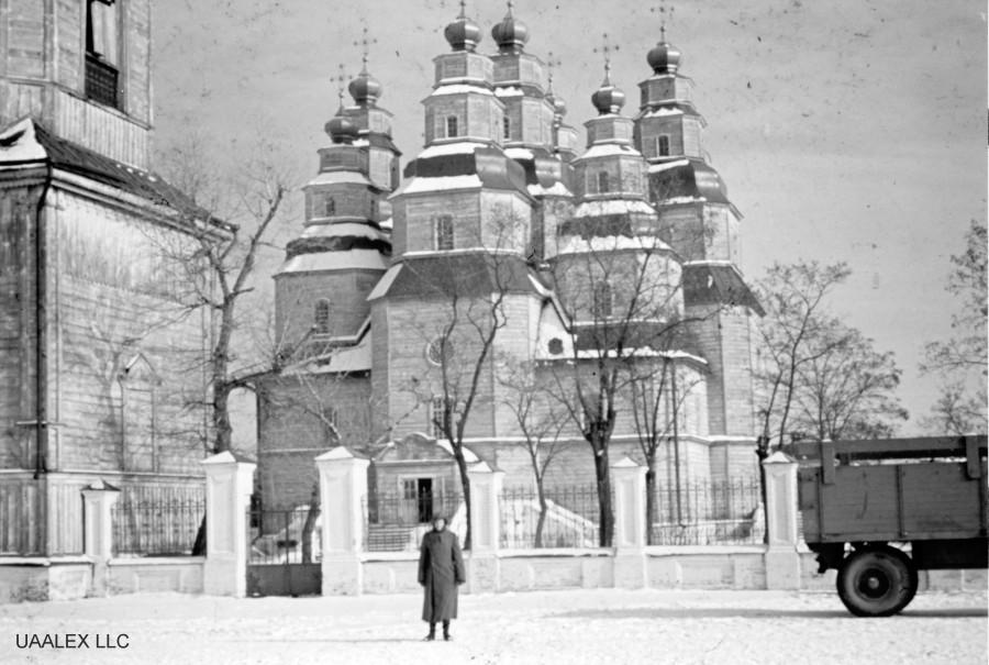 Деревянный храм, построенный без железных гвоздей