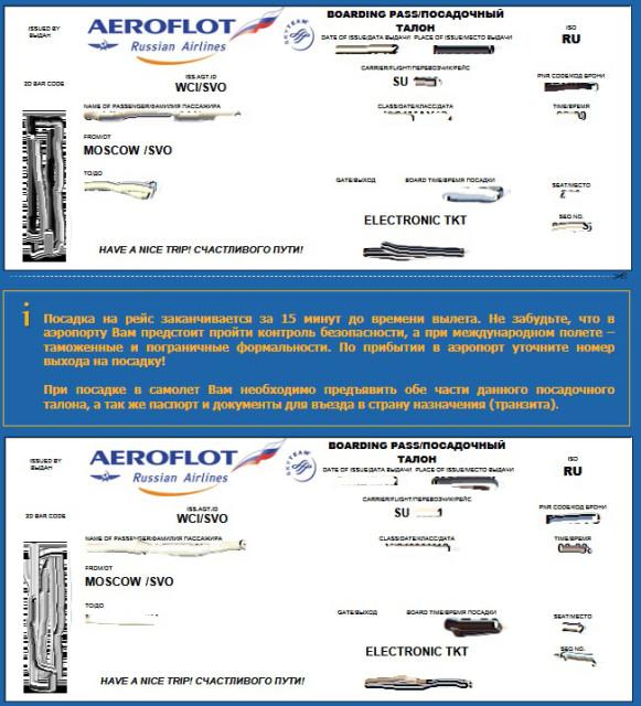 Где распечатать электронный билет на самолет аэрофлот наличие билетов на самолет москва петропавловск камчатский