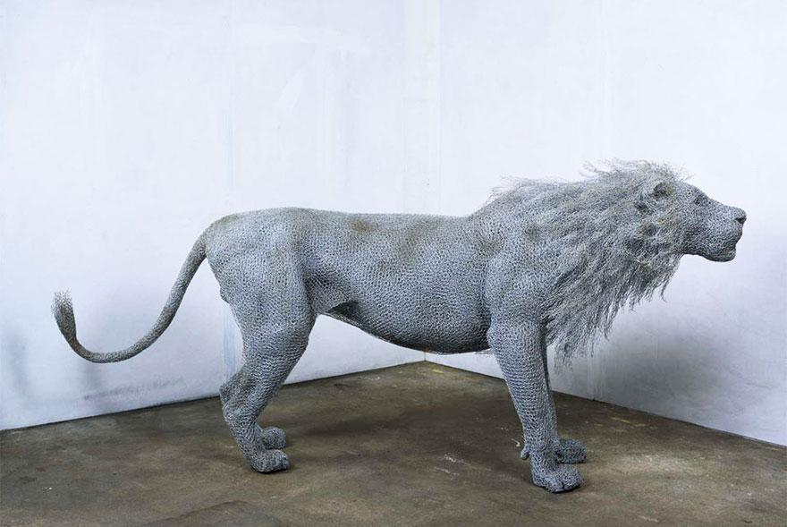 wire-art-lion__880