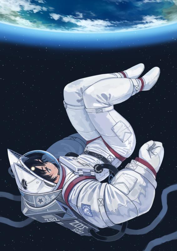 Картинки - УиХ. В скафандре с ушами в космосе, Земля над головой - window1228 82958 (pixiv-3725576) 3708511-danbooru, 74785195_p0-pixiv, О --f108024a9098859bc10f5569cdaf9686