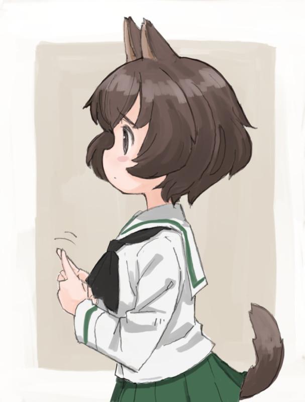 Картинки - УиХ. Акияма Юкари (GuP) девочка-собачка. もじもじ - nogitatsu (pixiv 4006744) 3111868-danbooru, 62523725-pixiv, О --c20beacd0835026cd585396bc6ba57f7