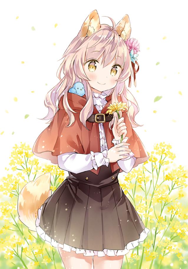 Картинки - УиХ. Волчица-тян и цветы. wolf-chan (wataame27) - オオカミちゃんとお花 - wataame27 (pixiv 3596363) 3686662-danbooru, 77818885-pixiv, О --df7411e183b34c81cacdcd24a205c530
