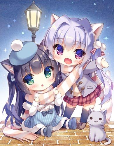 Картинки - УиХ. Кошкодевочки-лапочки - yukie (peach candy) (pixiv 167607) 3700337-danbooru, twitter.com, О --ab88d58b8a0a5b843c5f0513c4b1b419