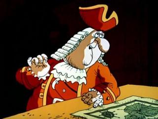 The Treasures Island, 1988 - animation (Squire Trelawney)