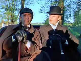 Sherlock Holmes and Dr. Watson, LenFilm studio, USSR, 1979