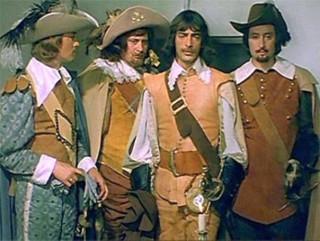 Soviet D'Artagnyan and three musketeers, Odessa film studio, 1979