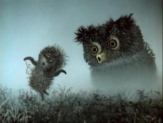 """The Hedgehog in the Fog"", directed by Yuri Norshtein, SoyuzmultFilm studio, 1975"
