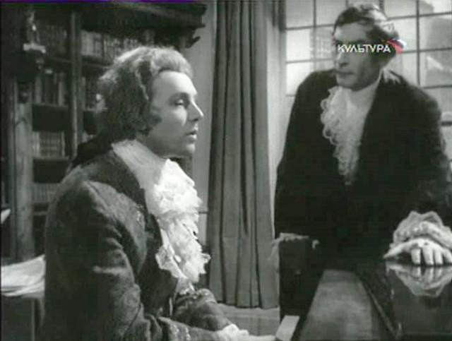 Innokenty Smoktunovsky as Mozart in the film-opera (1962)