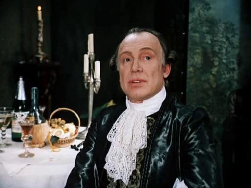 "Innokenty Smoktunovsky as Salieri (""The Little Tragedies"", 1980)"