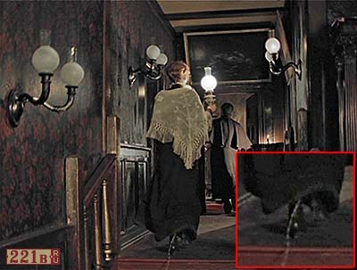 the lamp in The Adventures of Sherlock Holmes and Dr Watson series, LenFilm studio 1979