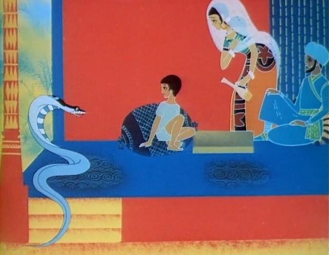 Rikki-Tikki-Tavi - Soviet cartoon film based on R. Kipling's tale (1965) Soyuzmultfilm studio