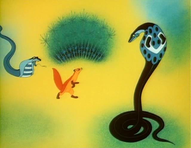 "Rikki-Tikki-Tavi - Soviet cartoon film based on R. Kipling""s tale (1965) Soyuzmultfilm studio"