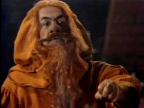"Anatoly Ravikovich as Torin in Soviet TV adaptation ""Hobbit"" based on Tolkien's tale (1985)"