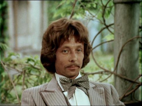 Oleg Dal as Prince Florizel in Lenfilm's adaptation of Robert L. Stevenson's stories, 1979
