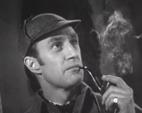 Рональд Хоуворд в роли Шерлока Холмса