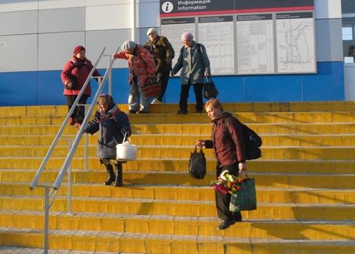 на станции ВИЗ, Екатеринбург